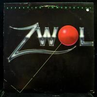 ZWOL - Effective Immediately LP VG+ SW 17014 Vinyl 1979 Record