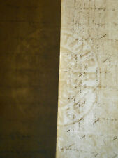 1881 ANTIQUE MANUSCRIPT DOCUMENT 8 PAGES SIGNED HANDWRITTEN FRENCH WATERMARK