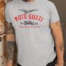 Retro Vintage Biker Moto Guzzi 1921 Image & Logo Premium Quality T-shirt S - 5XL