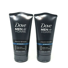 Dove Men + Care Face Wash, Hydrate, 5 oz  Lot of 2