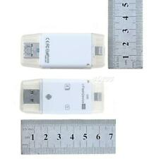 2 in 1 i-Flash Drive TF SD Card Reader Fr iPhone 4S/5/5S/5C/6 iPad2/3/4/air JMHG