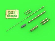 30mm m230 barrel pitot tubes und fin antenne an ah-64 apache #35002 1/35 master