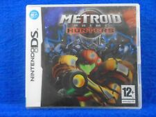 ds METROID PRIME HUNTERS Wi-Fi Multiplayer Action Lite DSi 3DS PAL REGION FREE