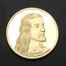 Jesus Last Supper Gold Souvenir Coins Art Collection Collectible Commemorative