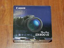 NEW in Open Box - Canon PowerShot SX400 IS 16.0 MP Camera - BLACK - 013803244250