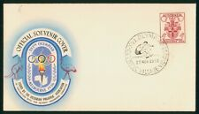 Mayfairstamps Australia 1956 Olympics Jump Cancel Cover wwp973