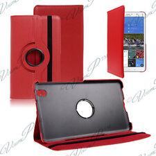 Etui Housse Rotatif Rotation 360° ROUGE Samsung Galaxy Tab Pro 8.4 LTE 3G 4G