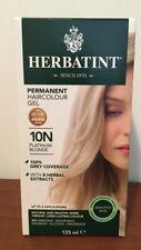 Herbatint Hair Dye 10N Platinum Blonde Cruelty Free