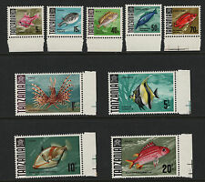 OPC 1967 Tanzania Fish Lot of 9 High Values MNH Margins
