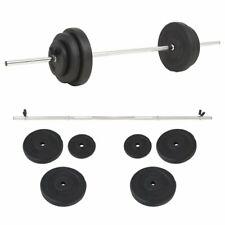 vidaXL 91398 Set per Bilanciere - 30 kg