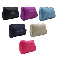 Women Travel Portable Cosmetic Bag Makeup Toiletry Organizer Wash Case WA