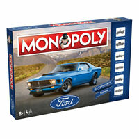 Monopoly FORD Board Game Brand New In Stock FREE POSTAGE