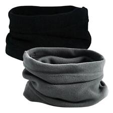 2 Pieces Winter Hot Neck Warmer Scarf Snood Unisex Mens Ladies Neck Gaiter