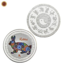 WR 12 Chinese Zodiac Lunar Year Of The Rabbit .999 SILVER Coin Mint Collectibles