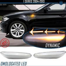 Frecce LED Dinamiche SEQUENZIALI per BMW SERIE 1 E87 E81 E82 E88 CANBUS Omologat