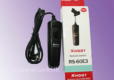RS-60E3 Remote Shutter Release with cable for Pentax K-50 K-1 K-7 K-5 K-3 K-500