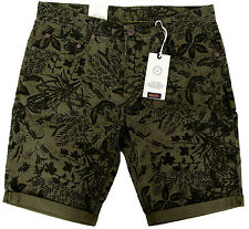 Mac jeans arne bermudas señores chino pantalones brevemente Men Pants shorts w33 l10 Paisley