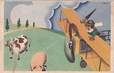 FUTURISMO - ALA LITTORIA LINEE AEREE - DIS. CRALI 1942