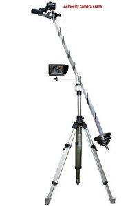 Acinecity Pro.Camera Crane Jib Arm for DSLR,NIKON,JVC,SONY,RED CINEMA,BMCC 4K 8K