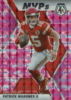 Panini NFL Football Mosaic 2020 Mvps No. 297 Patrick Mahomes Pink Camo Prizm