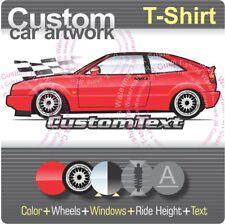 Custom T-shirt 1988 89 90 91 92 93 1994 94 95 1995 VW Corrado 2.8 L 2.9 VR6 G60