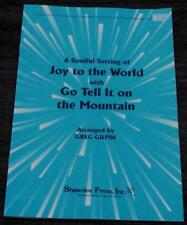 Joy To The World, Go Tell It On The Mountain 1994  OLD SHEET MUSIC