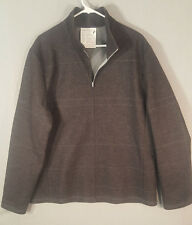 ICEBREAKER MERINO WOOL COAT JACKET Sz L XL Skyline Boulder Coastal Shell Mayfair