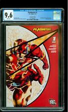 Flashpoint 1 CGC 9.6 NM+ 1st Batman (Thomas Wayne) SDCC Variant Cover DC 2012