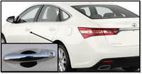 OEM TOYOTA AVALON DOOR EDGE GUARDS MAGNETIC GRAY PT936-07130-11 FITS 2013-2016
