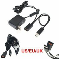 USB Power Adapter Connector for Microsoft XBOX 360 XBOX360 Kinect Sensor UK/US