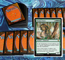 mtg GREEN DECK Magic the Gathering rare cards verdant force vorapede