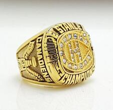 Year 1986 Montreal Canadiens Stanley Cup Championship Copper Ring 8-14Size