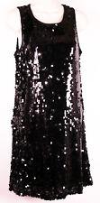 Speechless Juniors Sequined Club Dress M Medium Bodycon Black Cocktail Sequins