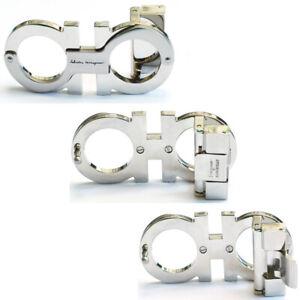 BC#001 Feragamo Men's Copper Belt Buckle for 34-35mm leather strap -Silver color