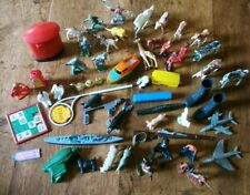 1950s Mixed Toy Bundle Soldiers Animals boats cowboys horses Poss Old Britains
