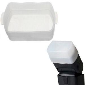 Soft Diffuser Flash Box Bounce Cap Soft Box Cover For Canon 430Ex Ii ^ji I-