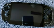 Sony Playstation PS VITA PCH-1001 - 32GB Card, Case and Charger