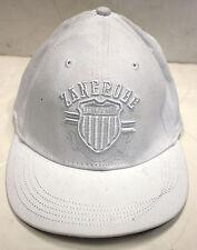 NWT MEN'S ZANEROBE BASEBALL HAT/CAP WHITE SIZE:REGULAR(BEST FROM 56CM)