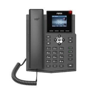 Fanvil X3SP V2 IP phone Black 2 lines - X3SP V2 BRAND NEW STILL IN BOX