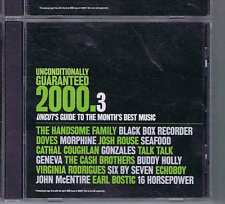 HANDSOME FAMILY / BLACK BOX RECORDER  Unconditinally Guranteed 2000 .3 UNCUT CD