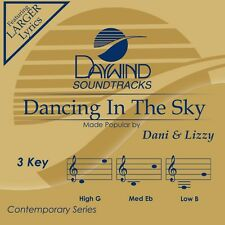 Dani & Lizzy - Dancing In The Sky -  Accompaniment CD NEW