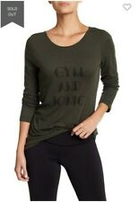 Z By Zella Gym and Tonic Long Sleeve Tee Workout Sz XL NWT