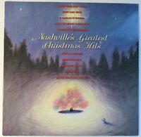 Nashville's Greatest Christmas Hits. 1988 LP / Vinyl PC44412 PROMO Willie/Merle
