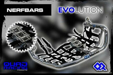 Nerfbars Evolution avec heelguards & repose-pieds en noir pour HONDA TRX 700xx
