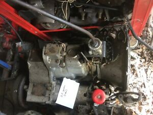 Land Rover late Series 2a gearbox and transfer case suffix F