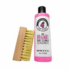 Pink Miracle Bottle - Shoe Cleaner - Fabric Cleaner Solution With Free BONUS