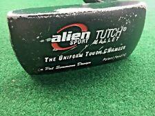 "Alien Pat Simmons Tutch Mallet Putter / RH / ~35"" Graphite / Orig. Grip / mm3160"