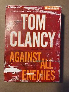 Against All Enemies by Tom Clancy (2011, 15 CDs, Unabridged edition)