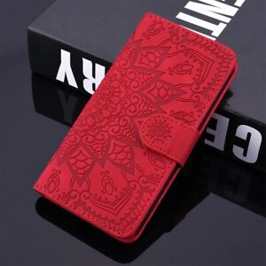 Leather Wallet Case For iphone 12 Mni 11 Pro Max X XR XS 6 6S 7 8+ Card Slots Ho