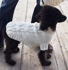 Dog Coat Jumper Patons Knitting pattern Biscuits And Bone 5 Sizes Laminated